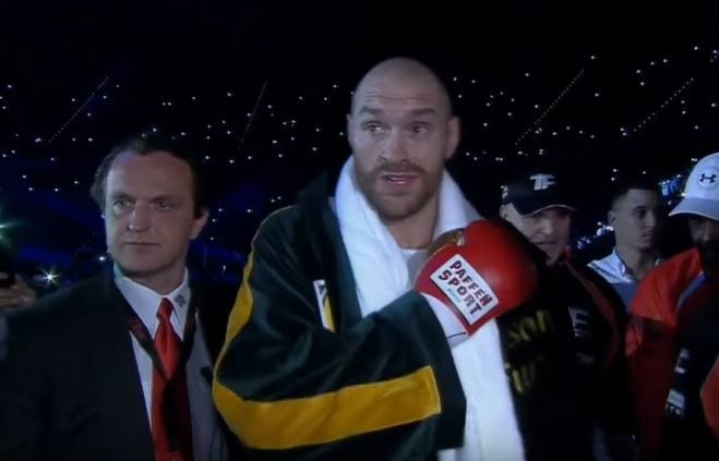 Fury Trainer Makes Bold Claim About Altered Weighing Scales In The Klitschko Fight